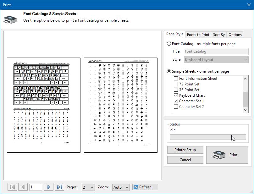 Font Manager for Windows 10, Windows 8, Windows 7, Vista & XP ...